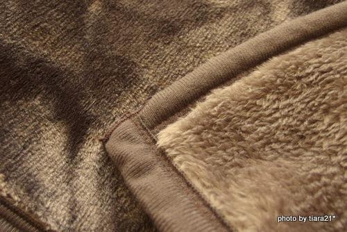 とろけるような毛布